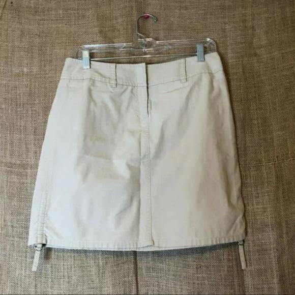 LOFT Dresses & Skirts - Ann Taylor LOFT Skirt Size 4 Khaki Adjustable Work
